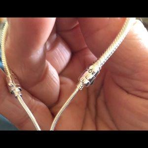 Pandora Jewelry - Pandora SLIDING BANGLE BRACELET, 597953CZ.one size